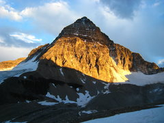Rock Climbing Photo: The North Face and Ridge of Mt. Assiniboine from t...