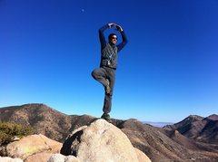 Rock Climbing Photo: The Dancing Wu Li Master