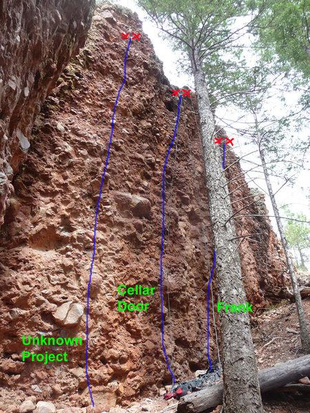 Rock Climbing Photo: Cellar Wall