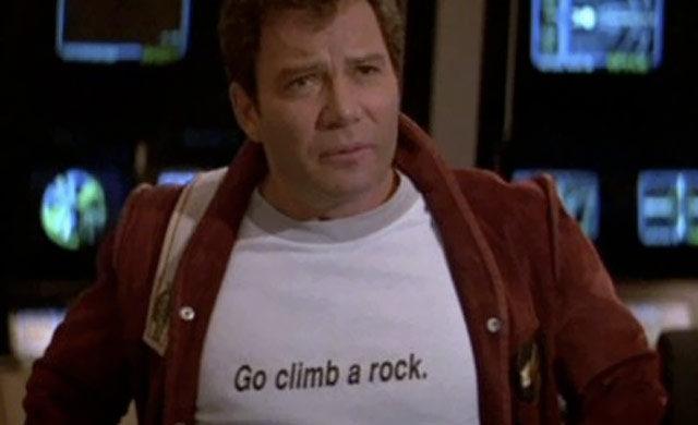 Captain Kirk Climbs