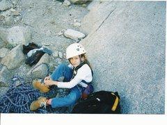 Rock Climbing Photo: My niece Brittany, age seven. Britts second Yosemi...
