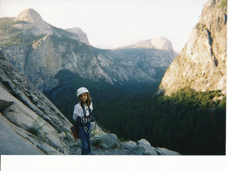 Rock Climbing Photo: The summit! The climb is a classic, but the lesson...