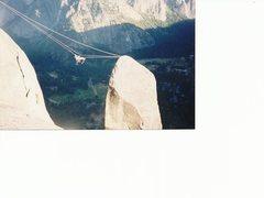 Rock Climbing Photo: Sean crossing the traverse. He looks like an actio...
