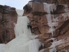Rock Climbing Photo: The upper pillar, Feb. 4, 2011.