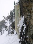 Rock Climbing Photo: The pillar in profile (2-6-2011).