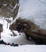 Rock Climbing Photo: Pway-  Up in Smoke