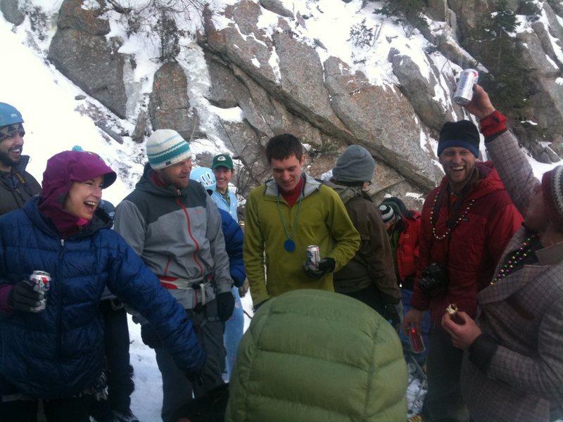 Rock Climbing Photo: GWI BBQ