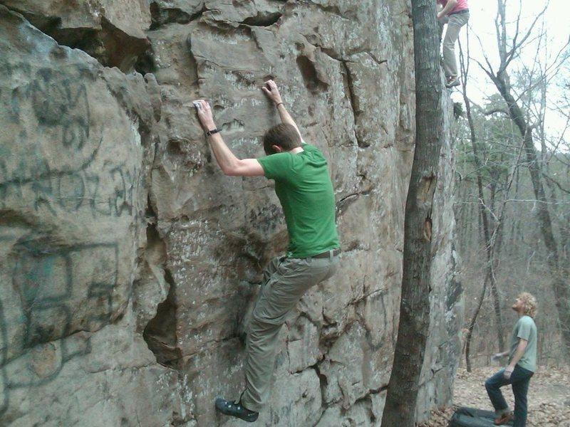 Rock Climbing Photo: Ozzy Traverse
