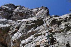 Rock Climbing Photo: Loosy Goosy  5.9  Location UTM 16s 0608971  378269...