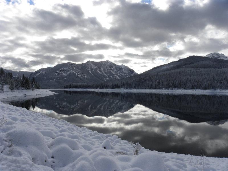 Hyalite Reservoir November 2010