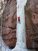 Rock Climbing Photo: who needs a rope when it's this fat.