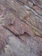 Rock Climbing Photo: gripper!