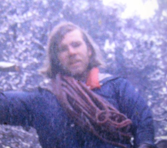 Rock Climbing Photo: Steve Nelson, on an early attempt of Chasm View, B...