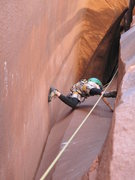 Rock Climbing Photo: devin jr doin his thing