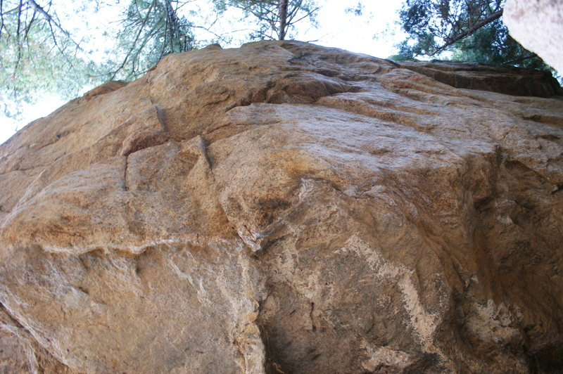 Can anyone give me some beta on this route? I think it's 12d. I was seeing if I could retro some anchors on it? Looks great but R! This boulder has some of the strongest lines I've seen, with potential!