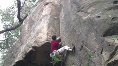Rock Climbing Photo: moving into OW territory