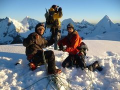 Rock Climbing Photo: Pisco summit at 5,752m. cordillera blanca for pisc...