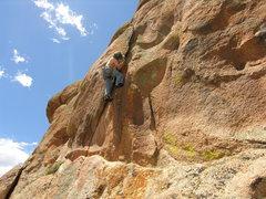 Rock Climbing Photo: Tim Stypolkowski on Baby's Got Crack.