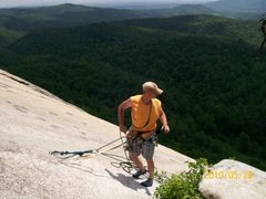 Rock Climbing Photo: topo anchors for mercury's lead, and a few other r...