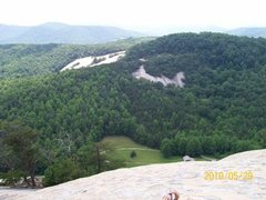 Rock Climbing Photo: one of the great view's @top of stn mtn.