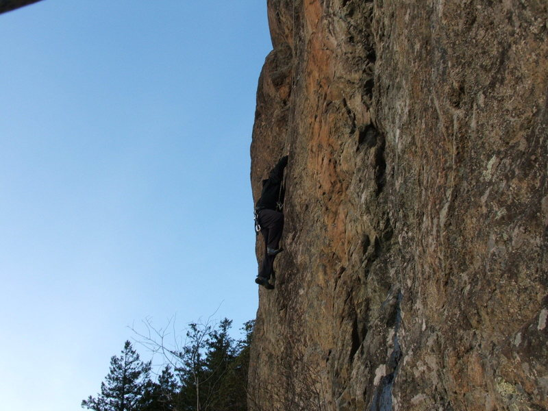 Orange Wall<br> Gator 5.10a