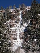 Rock Climbing Photo: Uinta ice