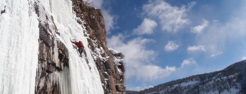 Rock Climbing Photo: Allen