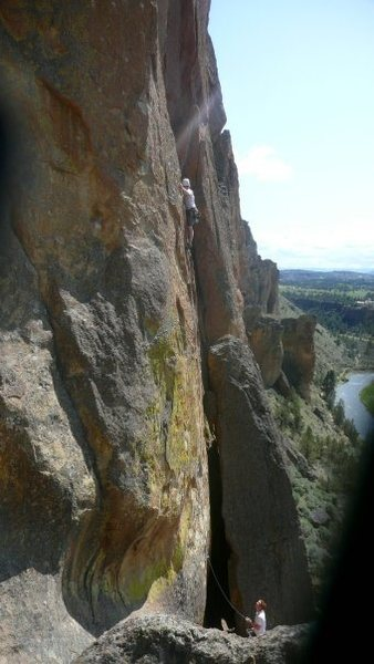 Backside of smith rocks