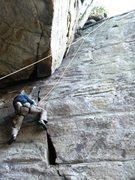 Rock Climbing Photo: classic route!