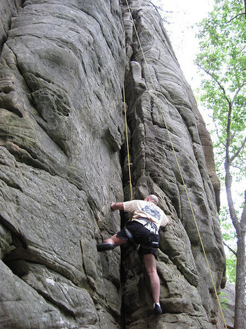 Climbing Chez Chimney