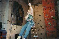 Rock Climbing Photo: John Bachar, one of my mentors, developed this exe...