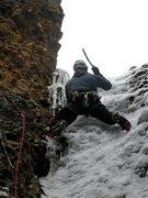 Rock Climbing Photo: Finishing up a taste of Cat Frisbee