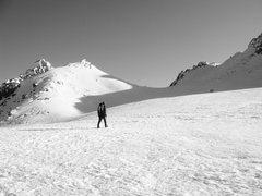 Rock Climbing Photo: Nearing the summit of Mt. Shasta via the Avalanche...