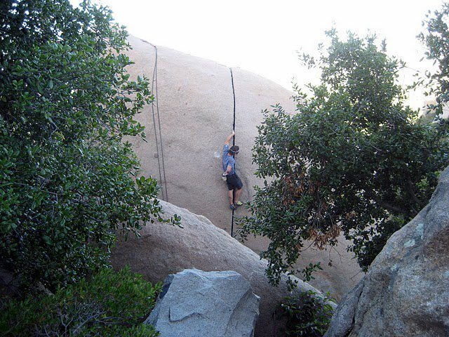 Possibly the best 24 foot hand crack in the world.