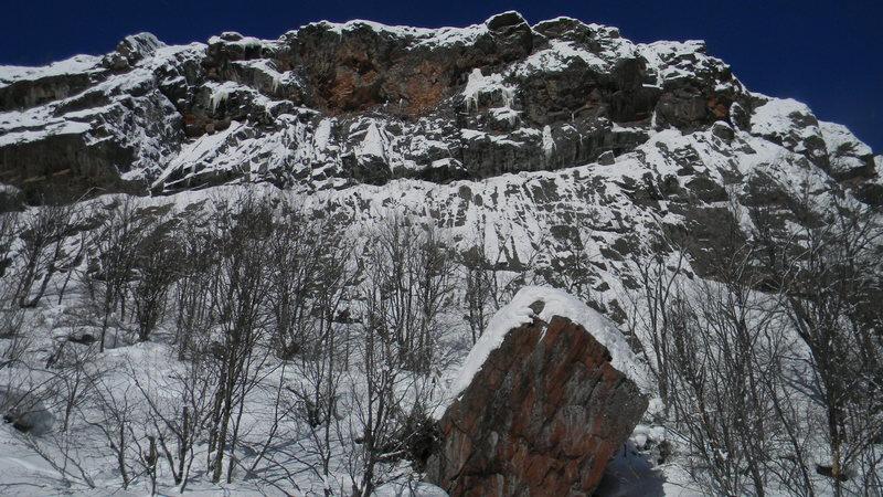 Rock Climbing Photo: norwick in the winter