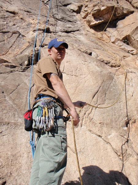 Rock Climbing Photo: Zappa Wall, Cochise BeanFest Winter 2010