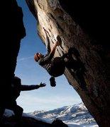 Rock Climbing Photo: Bowling Pin, Bishop CA