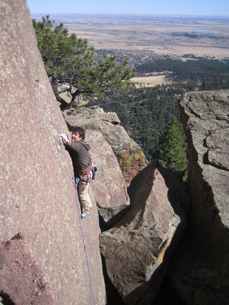 Rock Climbing Photo: techy slab anyone?