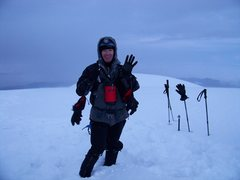 Rock Climbing Photo: Chimborazo 6310m (20,702 ft) Glaciated Peak. Happy...