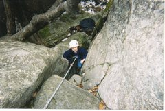 Rock Climbing Photo: The unknown can either be met with fear, or a senc...