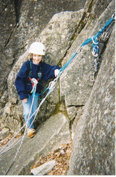 Rock Climbing Photo: A storm was moving in, so we had to jet, and no, t...