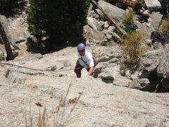 Rock Climbing Photo: Coming up pitch one