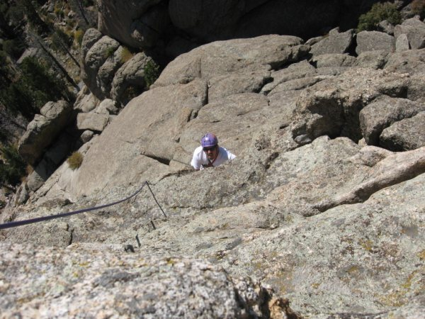Rock Climbing Photo: Pitch 2, or 3 depending on how you climb it.