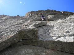 Rock Climbing Photo: Me on Prime Cut 5.10a