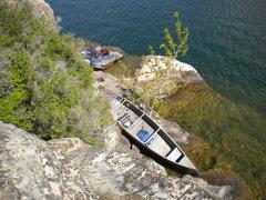 Rock Climbing Photo: Island Climbing