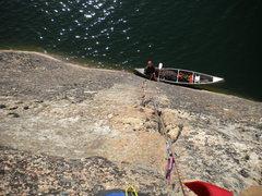Rock Climbing Photo: Bassomatic 5.9