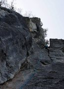 Rock Climbing Photo: Pitch 2, start of the real climbing.  By Ram Sripr...