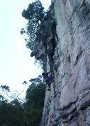 Rock Climbing Photo: Start of Pitch 1.  By Ram Sripracha