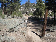 Rock Climbing Photo: The gate to the trail.