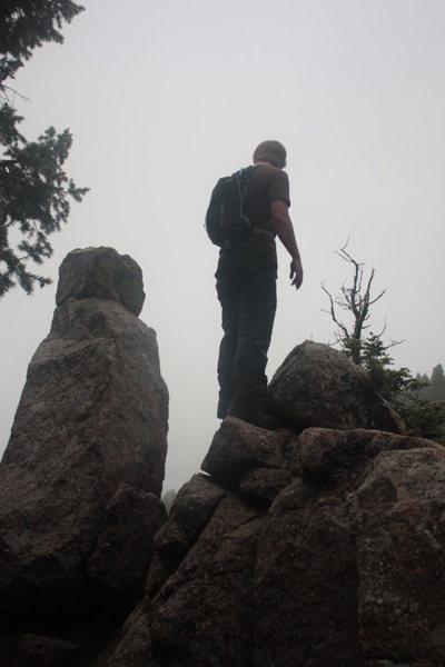 Rock Climbing Photo: blodgett's peak